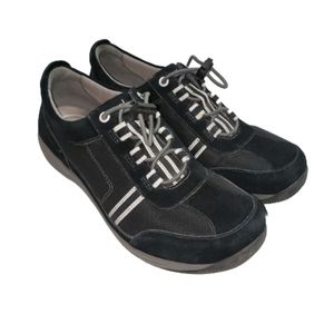 Dansko Navy Suede Sneakers
